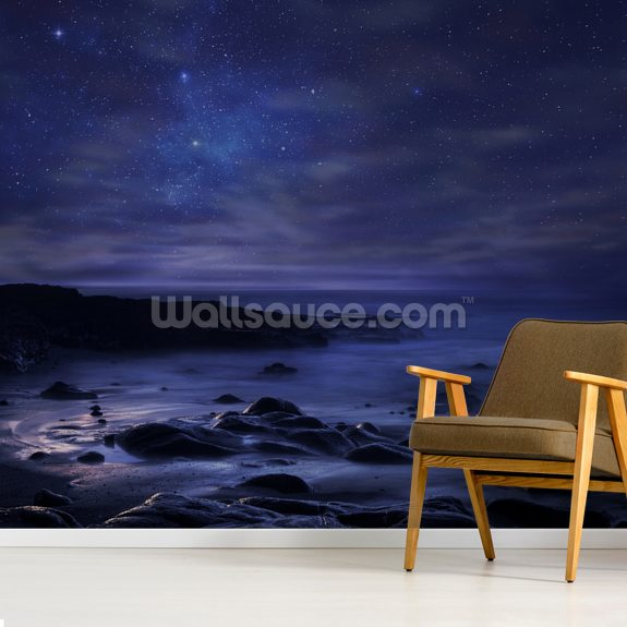 Insomnia wallpaper mural room setting