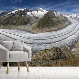 Aletschgletscher Wallpaper Wall Murals