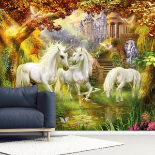 Magical Unicorn Forest