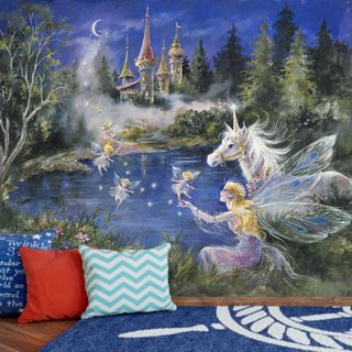 Fairies in the Landscape Wallpaper Wall Murals