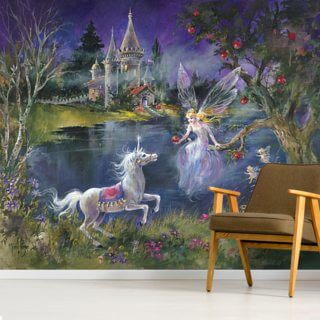 Feeding Time Wallpaper Wall Murals