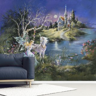 Me and My Unicorn Wallpaper Wall Murals