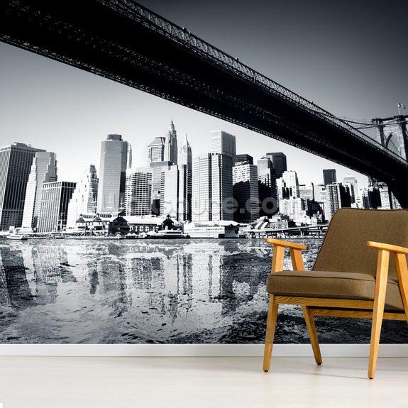 New York Black White