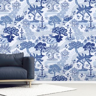 Dynasty Nanas Garden Wallpaper Wall Murals