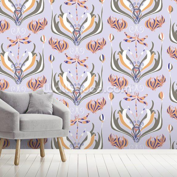 Dance of the Dragonflies Wallpaper   Wallsauce UK