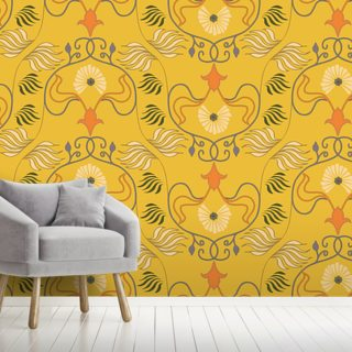 Nouveau Exotic Wallpaper Wall Murals