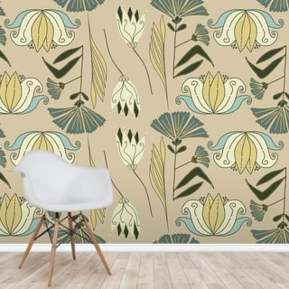 Nouveau Magic Wallpaper Wall Murals