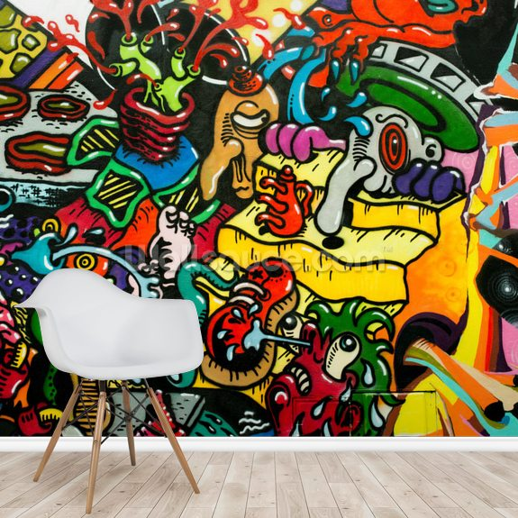 Graffiti Art Wallpaper Wallsauce Au
