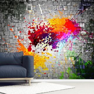 Ink Splatter Wallpaper Wall Murals