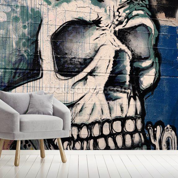 Graffiti Skull Face