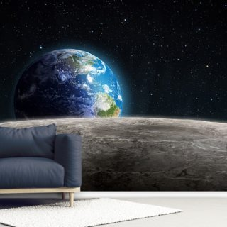Rising Earth Wallpaper Wall Murals