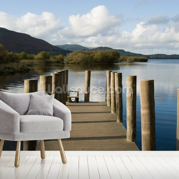 Lakeland Jetty View wall mural room setting