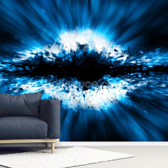 Exploding Star Wallpaper Mural Wallsauce Uk