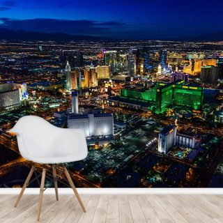 Las Vegas Lights Wallpaper Wall Murals