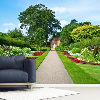 English Country Garden Wallpaper Wall Murals