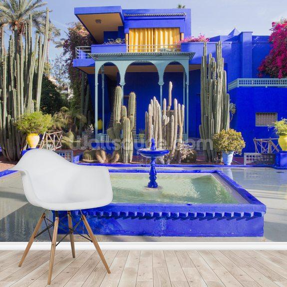 Le Jardin Majorelle Marrakech Wallpaper Mural Wallsauce Au