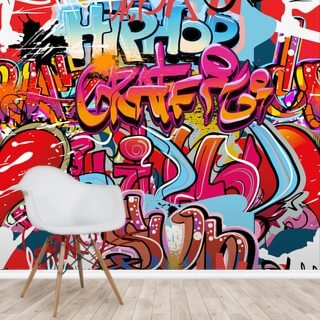 Hip Hop Graffiti Wallpaper Wall Murals