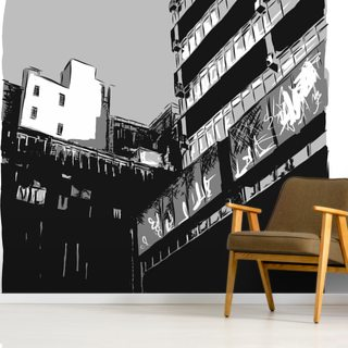 Northern Noir Wallpaper Wall Murals