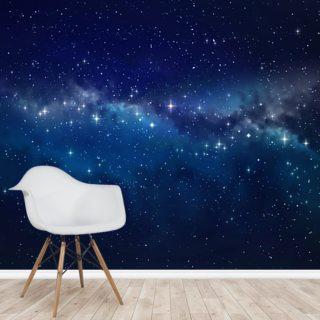 star cloud wallpaper mural