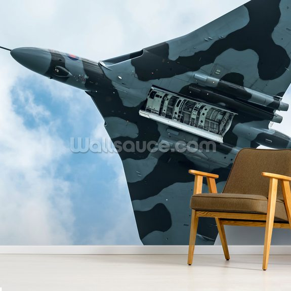 Vulcan Bomber Final Run mural wallpaper room setting