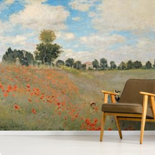 Wild Poppies, near Argenteuil (Les Coquelicots: environs dArgenteuil), 1873 (oil on canvas)