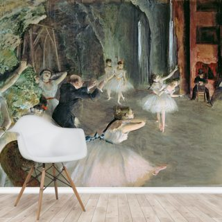 The Rehearsal of the Ballet on Stage, c.1878-79 (pastel on paper)