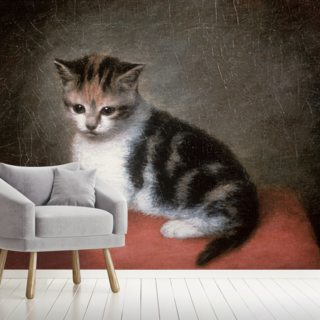 Miss Ann Whites Kitten, 1790 Wallpaper Wall Murals