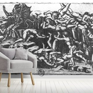 Hell by Dante Alighieri Wallpaper Wall Murals