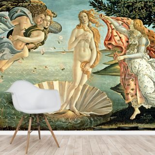 The Birth of Venus, c.1485 Wallpaper Wall Murals