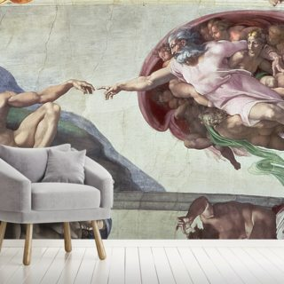 Sistine Chapel Ceiling (1508-12): The Creation of Adam