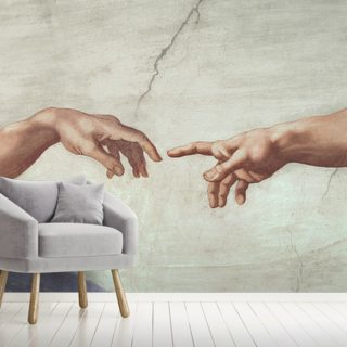 Hands of God and Adam - Sistine Ceiling
