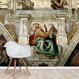 Sistine Chapel Ceiling, 1508-12 Wallpaper Wall Murals