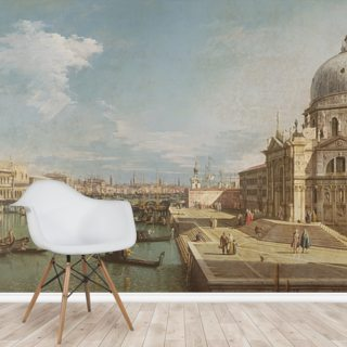 Grand Canal and Church of Santa Maria della Salute Wallpaper Wall Murals