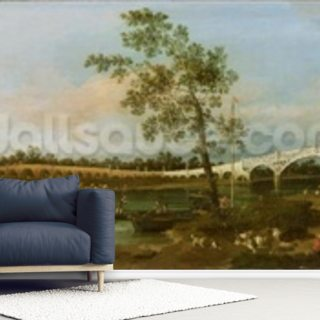 Old Waltons Bridge, 1755 Wallpaper Wall Murals