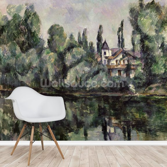 The Banks of the Marne, 1888 wall mural room setting