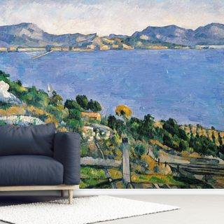 Lestaque, View of the Bay of Marseilles, c.1878-79 Wallpaper Wall Murals