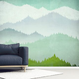 First Snow Wallpaper Wall Murals