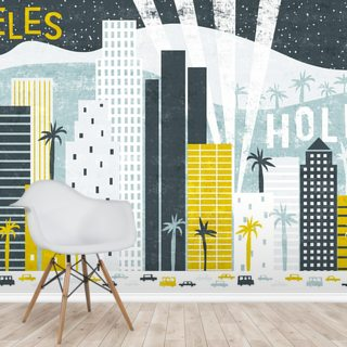 Hey Los Angeles Wallpaper Wall Murals