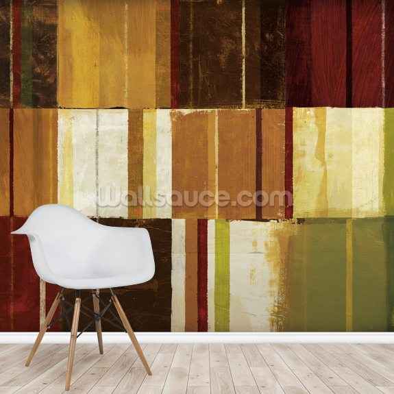 Spice Patches I wallpaper mural room setting
