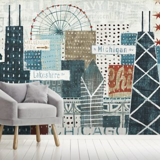 Hey Chicago Wallpaper Wall Murals