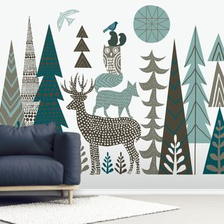 Forest Folklore Wallpaper Wall Murals