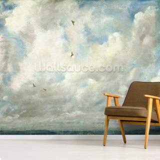 Cloud Study, 1821 (oil on paper laid down on board) Wallpaper Wall Murals