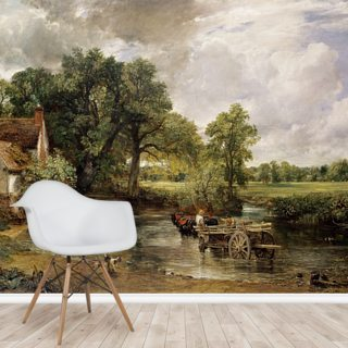 The Hay Wain, 1821 (oil on canvas) Wallpaper Wall Murals