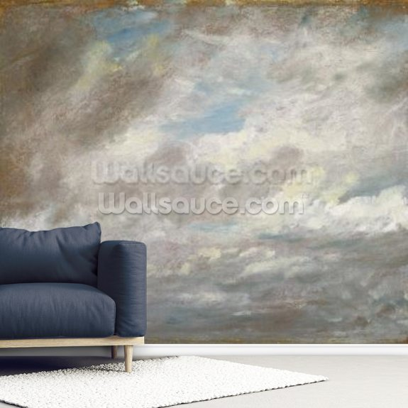 Cloud Study, c.1821 (oil on paper laid on card) wall mural room setting