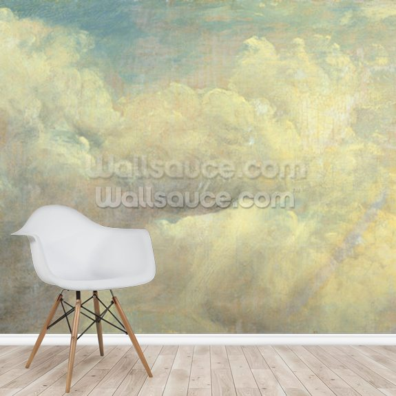 Cloud Study, c.1821 (oil on canvas) mural wallpaper room setting