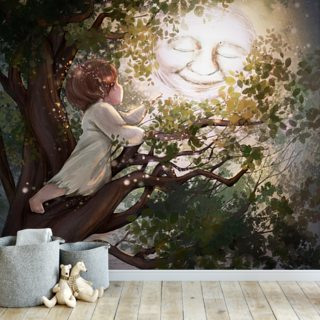 Reaching Wallpaper Wall Murals