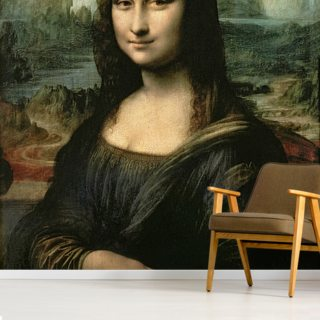 Mona Lisa, c.1503-6 (oil on panel) Wallpaper Wall Murals