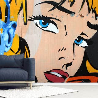Pop Art Wallpaper Wall Murals