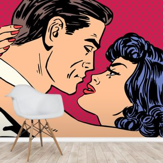 Kiss Wallpaper Wall Murals