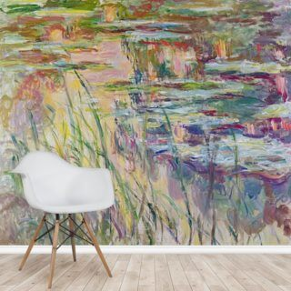 Reflections on the Water, 1917 (oil on canvas) Wallpaper Wall Murals